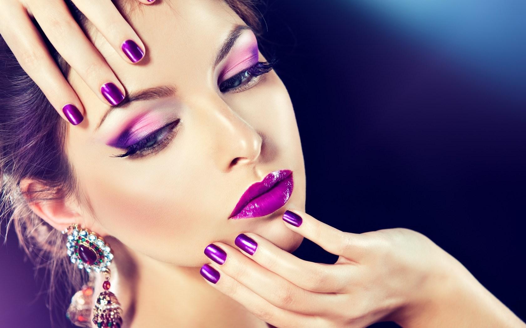 макияж и прическа фото
